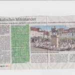 Zeitungsartikel Fete de la musique Landau25.06 RHeinpfalz